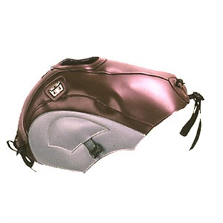 Bagster Tank cover ZZR 600 - aubergine / steel grey