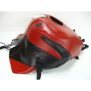Bagster Tank cover ZX 9R NINJA - red / black