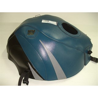 Bagster Tank cover RF 900R - peacock blue / black / steel grey triangle