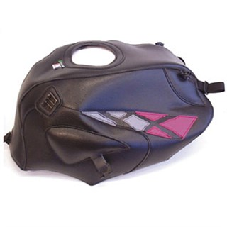 Bagster Tank cover CB 500 / CB 500S - black / fuschia / steel grey
