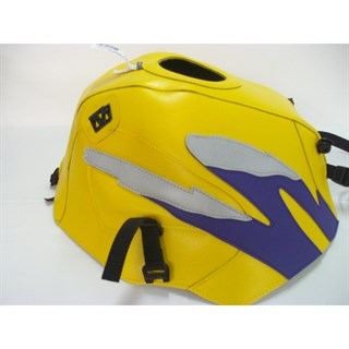 Bagster Tank cover CB 500 / CB 500S - surf yellow / dark purple / light grey