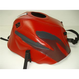 Bagster Tank cover CB 500 / CB 500S - red / dark claret / anthracite