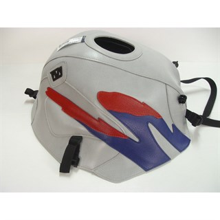 Bagster Tank cover CB 500 / CB 500S - light grey / baltic blue / red