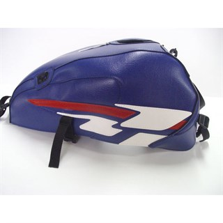 Bagster Yamaha Xjr 1300 Tank Cover - Baltic Blue/White/Red