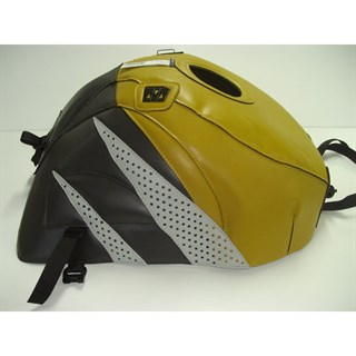 Bagster Tank cover GSX 600R / GSX 750R - mustard / sky grey / light grey