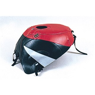 Bagster Tank cover GSX 600R / GSX 750R - red / black / grey