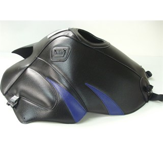 Bagster Tank cover TDM 850 - black / baltic blue triangle