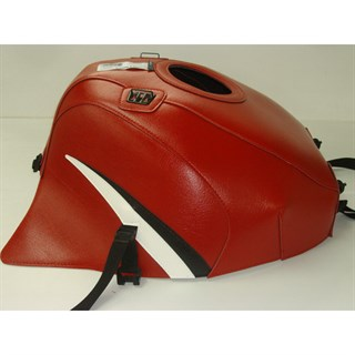 Bagster Tank cover ZX 7R / ZX 7RR - red / black / white triangle
