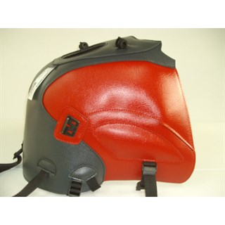 Bagster Tank cover XF 650 FREEWIND - anthracite / red