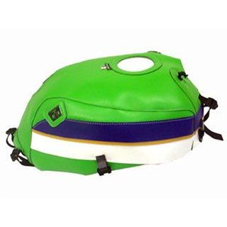 Bagster Tank cover ZRX 1100 / ZRX 1200N / ZRX 1200R / ZRX 1200S - green / dark purple / white