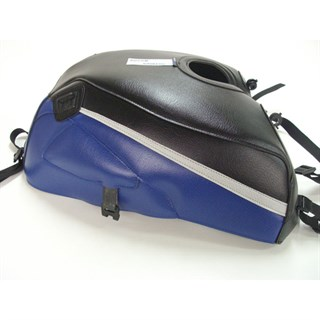 Bagster Tank cover ZRX 1100 / ZRX 1200N / ZRX 1200R / ZRX 1200S - black / blue / light grey stripe