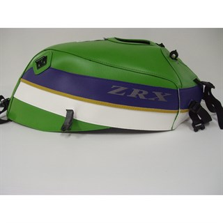 Bagster Tank cover ZRX 1100 / ZRX 1200N / ZRX 1200R / ZRX 1200S - lawn green / china blue / white / gold
