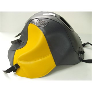 Bagster Tank cover K1200 RS / K1200 GT - anthracite / saffron yellow
