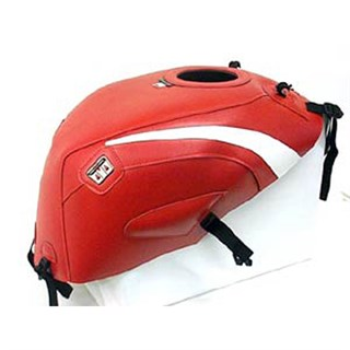 Bagster Tank cover NSR 125 - red / white triangle