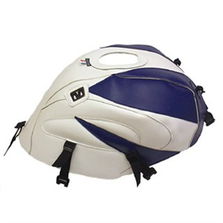 Bagster tank cover TL 1000R - white / baltic blue