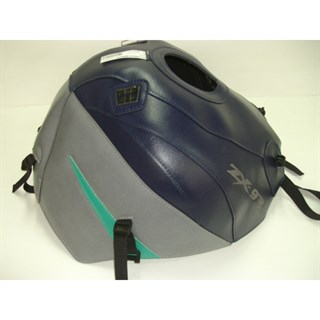 Bagster Tank cover ZX 9R - dark blue / steel grey / water lily