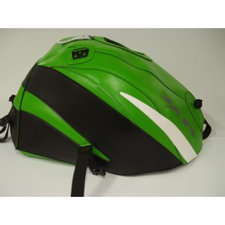 Bagster Tank cover ZX 9R - green / black / white triangle
