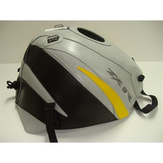 Bagster Tank cover ZX 9R - light grey / black / surf yellow triangle