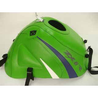 Bagster tank cover ZX 6R - green / china blue / white