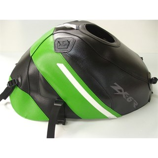 Bagster Tank cover ZX 6R - black / green / white