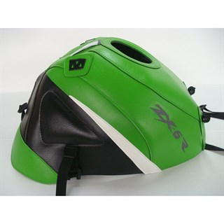Bagster Tank cover ZX 6R - green / black / white triangle