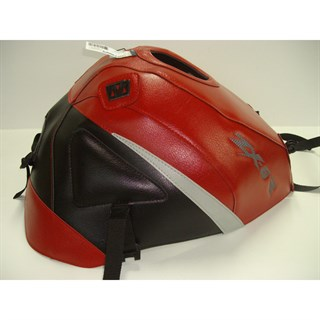 Bagster Tank cover ZX 6R - red / black / light grey triangle