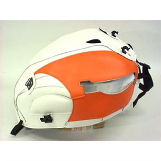 Bagster Tank cover THUNDERBIRD 900 LEGEND / LEGEND TT / SPORT - white / orange
