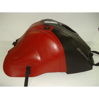 Bagster Tank cover GSX 1300R HAYABUSA - black / dark red