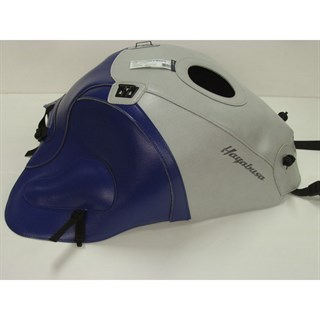 Bagster Tank cover GSX 1300R HAYABUSA - grey / baltic blue