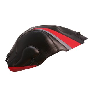Bagster tank cover GSX 1300R HAYABUSA - black / red / steel grey