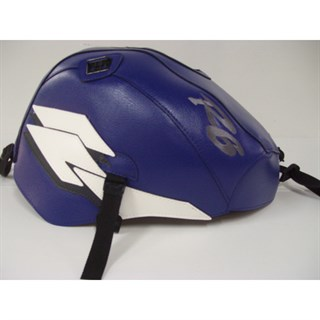 Bagster Tank cover YZF R6 - baltic blue / white