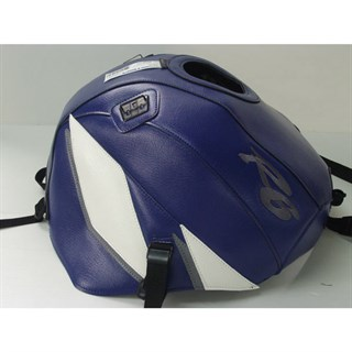 Bagster Tank Cover Yzf R6 - Baltic Blue / White / Steel Grey