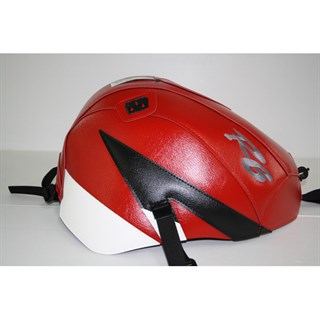 Bagster Tank cover YZF R6 - red / white / black