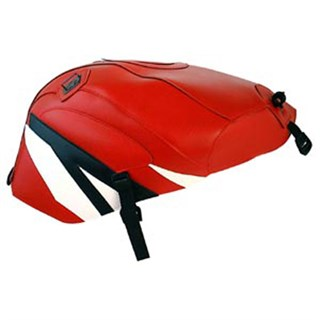 Bagster Tank cover YZF R6 - red / black / white