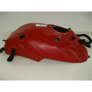 Bagster tank cover X1 LIGHTNING (WITH AIR INLET) - red