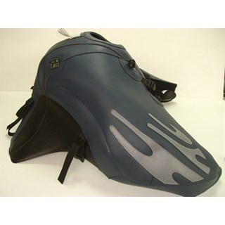 Bagster tank cover TIGER 900 / TIGER 955i - night blue deco / steel grey deco