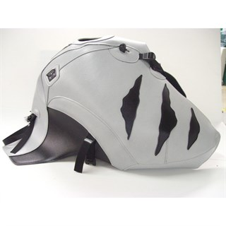 Bagster tank cover TIGER 900 / TIGER 955i - light grey / black deco