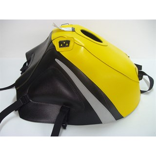 Bagster Tank cover GSX 600R / 750R / 1000R - surf yellow / black / grey