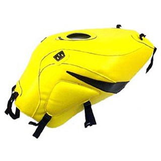 Bagster Tank cover GSX 600R / 750R / 1000R - surf yellow / black
