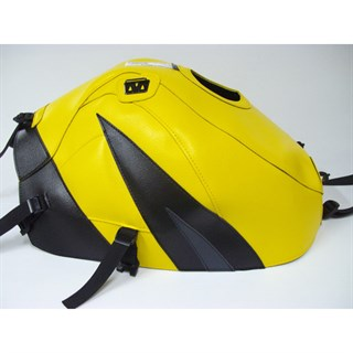 Bagster Tank cover GSX 600R / 750R / 1000R - surf yellow / black / anthracite