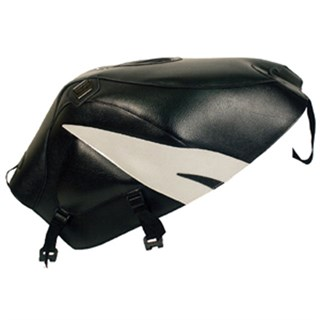 Bagster Tank cover GSX 600R / 750R / 1000R - black / light grey / black triangle