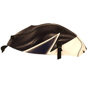 Bagster Tank cover GSF 600 BANDIT GSF 1200 BANDIT - dark blue / white / baltic blue triangle