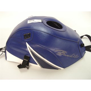 Bagster Tank cover GSF 600 BANDIT GSF 1200 BANDIT - baltic blue / white / dark blue triangle