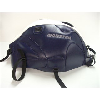 Bagster Tank cover MONSTER 600 / 1000 / S4 / S2R / S4R - dark blue/ white