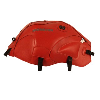 Bagster Tank cover MONSTER 600 / 1000 / S4 / S2R / S4R - red / white