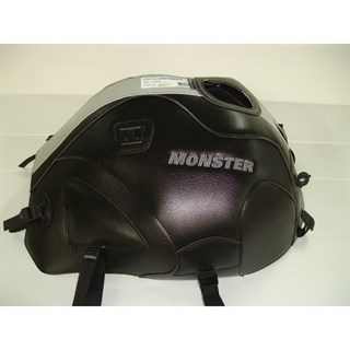 Bagster Tank cover MONSTER 600 / 1000 / S4 / S2R / S4R - black / grey