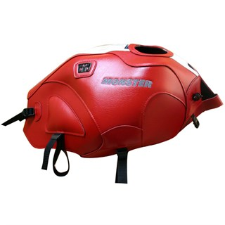 Bagster Tank cover MONSTER 600 / 1000 / S4 / S2R / S4R - red / black