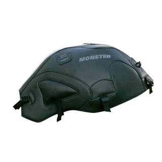 Bagster Tank cover MONSTER 600 / 1000 / S4 / S2R / S4R - black / white