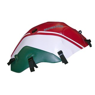 Bagster Tank cover MONSTER 600 / 1000 / S4 / S2R / S4R - red / white / forest green