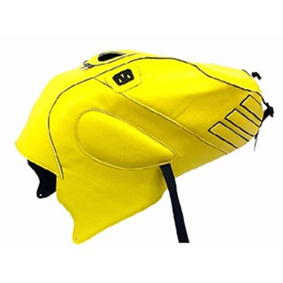Bagster Tank cover RSV MILLE R / RSV MILLE / 1000 TUONO / 1000 TUONO RACING - buttercup yellow / black deco